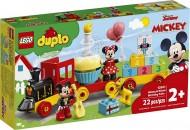 LEGO® DUPLO  TRENUL ZILEI ANIVERSARE MICKEY SI MINNIE 10941