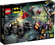 LEGO® SUPER HEROES  URMARIREA LUI JOKER CU MOTOTRICICLUL 76159