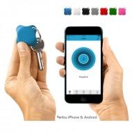Localizator Bluetooth  Lapa, dispozitiv anti-pierdere si localizare rapida - Culoare - Alb