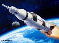 Macheta Racheta Apollo Saturn V - Revell 04909