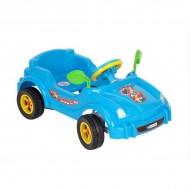 Masina cu pedale - Visul copiilor - albastru
