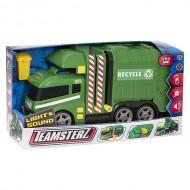 Masina de gunoi cu lumini si sunet - Garbage Truck