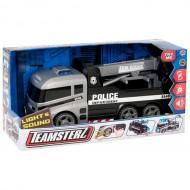 Masina de tractare cu lumini si sunete - Police Tow Truck