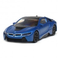 Masinuta BMW I8 Hybrid 2015, Scara 1:43 Albastru