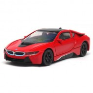 Masinuta BMW I8 Hybrid 2015, Scara 1:43 Rosu