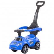Masinuta de impins Chipolino Turbo blue cu maner