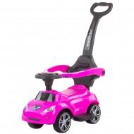 Masinuta de impins Chipolino Turbo pink cu maner