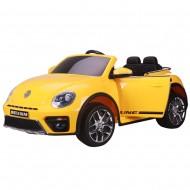 Masinuta electrica Chipolino Volkswagen Beetle Dune yellow