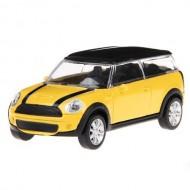 Masinuta Mini Cooper Clubman, Scara 1:43 Galben