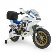 Motocicleta electrica Honda Africa Twin white 6V - Injusa