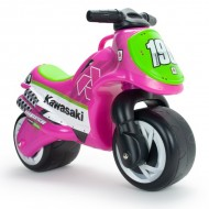 Motocicleta fara pedale Neox Kawasaki pink - Injusa