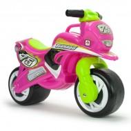 Motocicleta fara pedale Tundra pink - Injusa