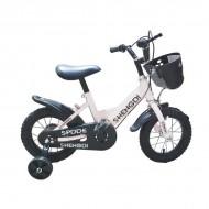 """NOU! Bicicleta 12"""" alba"""