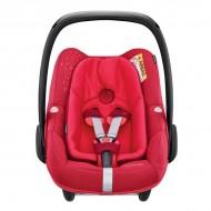 Pachet Cos auto Maxi-Cosi Pebble Plus I-Size + Baza auto Maxi-Cosi 2wayFix VIVID RED