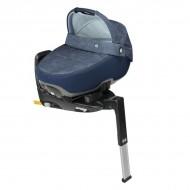 Pachet landou Maxi Cosi i-size Jade + baza auto 3wayfix NOMAD BLUE