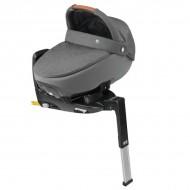 Pachet landou Maxi Cosi i-size Jade + baza auto 3wayfix SPARKLING GREY