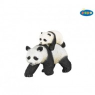 Panda cu pui - Figurina Papo