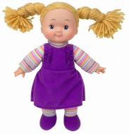 PAPUSA SOFT CHEEKY CU CORP MOALE SI HAINUTE VIOLET