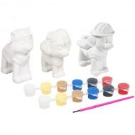 Picteaza-ti propria figurina Paw Patrol - set fete