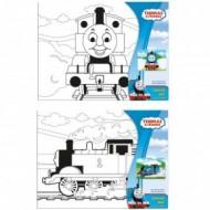 Pictura pe panza pentru copii Thomas 22,5X30 cm