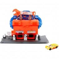 Pista de masini Hot Wheels by Mattel Gorilla Rage Garage Attack cu masinuta