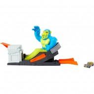 Pista de masini Hot Wheels by Mattel Toxic Ape Attack cu masinuta
