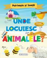 Potriveste si invata - Unde locuiesc animalele?