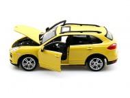 Porsche Cayenne Turbo - Galben mustar - Minimodel auto 1:24 Star Collezione