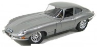 Jaguar E-Type Coupe - Gri metalizat - Minimodel auto 1:18 Gold