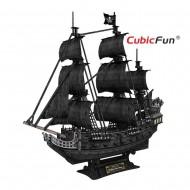 Corabia lui Barba Neagra - Puzzle 3D