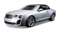 Bentley Continental Supersports Convertible - Argintiu - 1:18