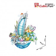 Puzzle 3D Cubicfun City Scape Dubai