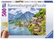PUZZLE HALLSTATT AUSTRIA, 500 PIESE
