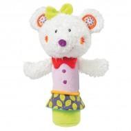 Jucaria muzicala Popice Soricelul Fluo - Brevi Soft Toys-070149