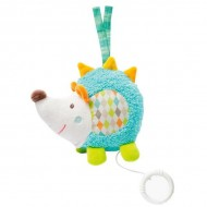 Jucarie muzicala Arici - Brevi Soft Toys-071054