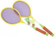 Set palete badminton cu 2 fluturasi
