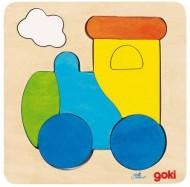 Mini Puzzle Locomotiva