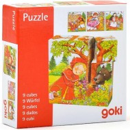 Mini puzzle cuburi Povesti cunoscute