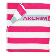 Prosop de plaja Roz Archimede