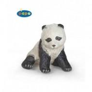 Pui panda sezand - Figurina Papo