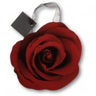 Punga de hatie-In forma de trandafir rosu
