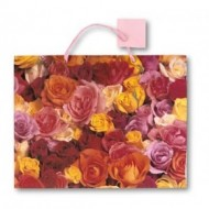 Punga pentru cadou cu trandafiri