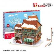 PUZZLE 3D - CBF1 - Magazin de accesorii pentru Craciun