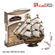Puzzle 3D Corabia HMS Victory