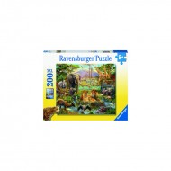 PUZZLE ANIMALE DIN SAVANA, 200 PIESE