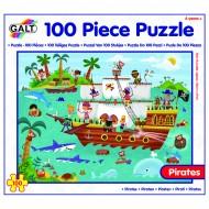 Puzzle - Calatoria piratilor (100 piese)