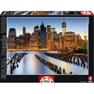 Puzzle City of Skyscrapers 1000 piese - Puzzle Educa