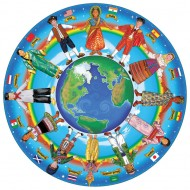 Puzzle Copii in jurul lumii 48 piese