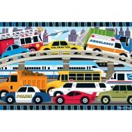 Puzzle de podea Blocaj in trafic