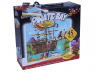 Puzzle de podea - Calatoria piratilor (45 piese)